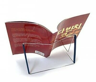 OliaDesign Fold-n-Stow Book Holder, Book Stand (Blue)