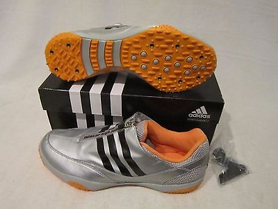 Adidas Adistar HJ High Jump Track and Field Running Lace Zip Spike Shoe Cleats