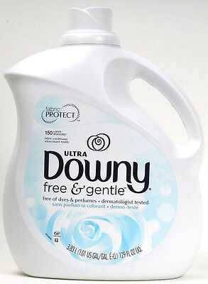 1 Ultra Downy Free Gentle Dermatologist Tested Fabric Conditioner 150 Loads