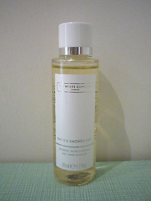 NEW The White Company flowers bath and shower gel 6 x 50ml = 300ml
