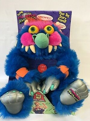 Talking My Pet Monster. Big Time 2008 Collectible American Greetings Scary