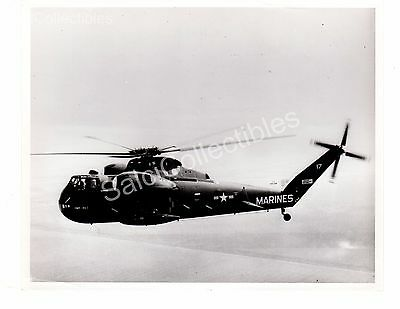Historical US Navy Aircraft Helicopter USS Mojave CH37-C Official Photo 8x10