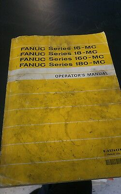 fanuc operators manual series 16-mc 18 - mc 160 180 cnc operating lathe mill
