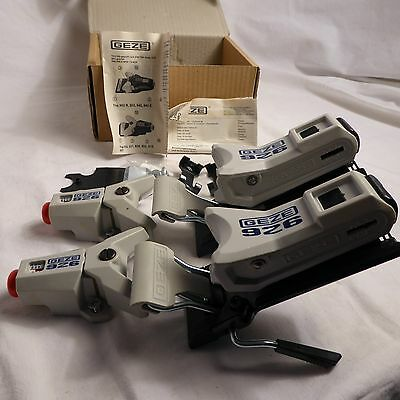 GEZE 926 vintage new old stock bindings made in Western Germany