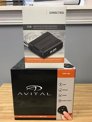Avital 5105L Alarm & Remote Start Keyless & DB3 Bypass Module Bundle Two items