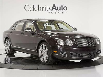 2010 Bentley Continental Flying Spur Flying Spur Sedan 4-Door 2010 BENTLEY CONTINENTAL FLYING SPUR