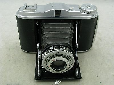 Agfa Isolette V (Early Model) 120 folding camera with 85mm f4.5 Agnar Lens