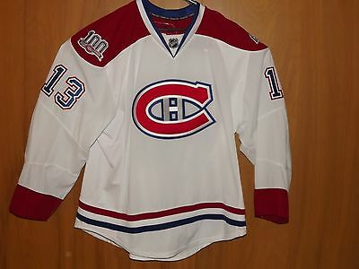 Montreal Canadiens Game Worn Jersey- Nhl -   Alex Tanguay
