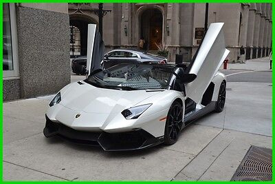 2014 Lamborghini Aventador LP 720-4 Roadster 2014 LP 720-4 50th anniversary aventador  Roadster One of 100 in the world