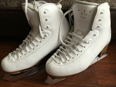 Risport RF3 ice skates with corination ace blades size 4 1/2