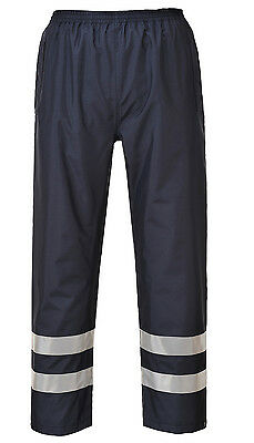 Rain Pants Waterproof Windproof Work Reflective Men's Trousers, Portwest S481