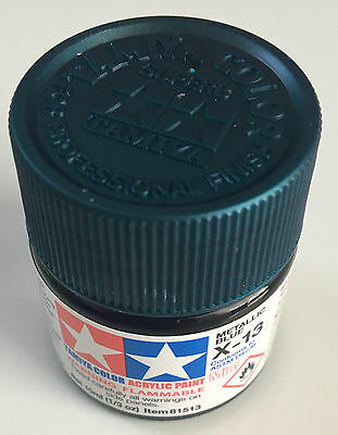Tamiya 81513 Acrylic Mini X-13 Metallic Blue 10ml NEW
