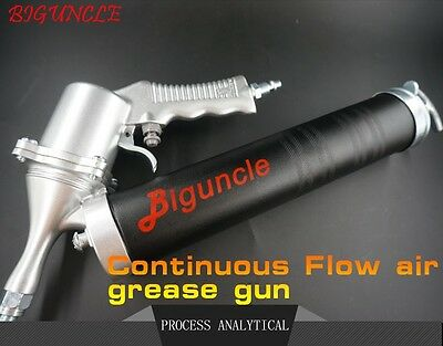 Biguncle Continuous Flow Air Grease Gun Input60psi-150psi Output 2400psi-6000psi