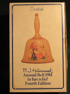 1981 Hummel Annual Bell by Goebel Hum 710 Handcrafted