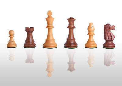 """The Club Chess Set - Pieces Only - 3.75"""" King - Golden Rosewood"""