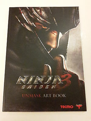 NINJA GAIDEN  -ART BOOK-  MANGA COMIC HEFT ILLUSTRATION  (Tecmo Koei USA-Japan)