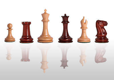 """The Cooke Luxury Chess Set - Pieces Only - 3.625"""" King  - Blood Rosewood"""