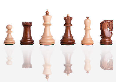 """The Zagreb '59 Chess Set - Pieces Only - 2.875"""" King - Golden Rosewood"""