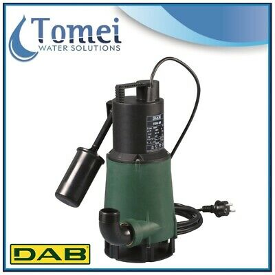 DAB Pump Submersible Sewage And Waste Water FEKA 600 M-A-SV 0,55KW 1x220-240V
