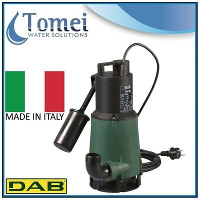 Submersible pump dirty water FEKA600M-A SV 0,55Kw 1x230V 50Hz Float cable5m DAB