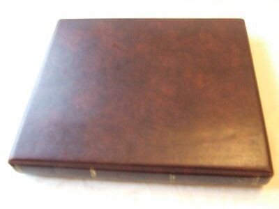 Stanley Gibbons Universal 22 Ring Album & Packs/covers Leaves, Good Condition