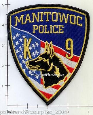 Wisconsin - Manitowoc K-9 WI Police Dept Patch