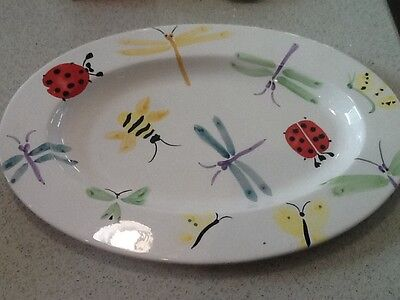 """Trish Richman for At Home 18"""" Platter"""