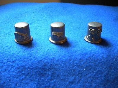 Pewter  Thimbles- Spain/Greece/Italy