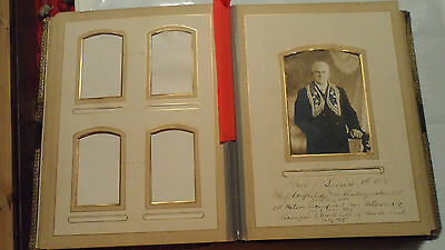 Antique Photo Album , One Photo , Pages Good Conditions , Heavy 100 Year Old
