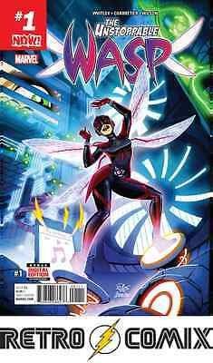Marvel The Unstoppable Wasp #1 First Print New/unread Bagged & Boarded