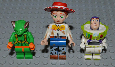 Lego Minifigures TOY STORY Jessie Dirt Stains Buzz Dirt Stains Twitch