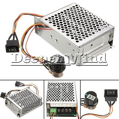 DC 10-50V PWM Motor Speed Control Controller CW CCW Reversible Pulse Driver 40A