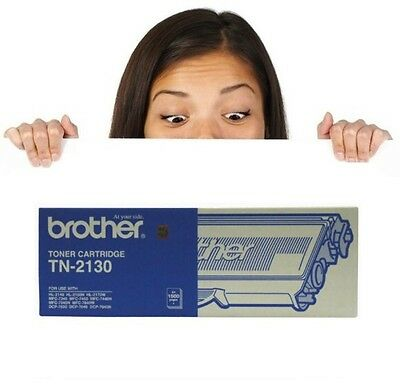 Genuine Brother TN-2130 Toner Cartridge IN OPEN BOX (TN-2150 LY Version)