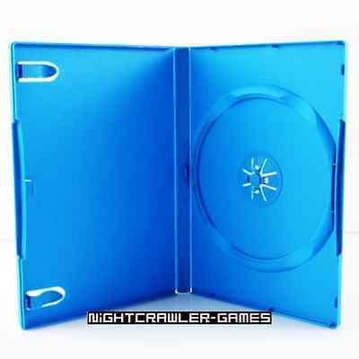(1) Nintendo Wii-U Light Blue REPLACEMENT Empty Game Case  # NEW #