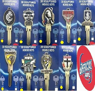 AFL 3D Scultured House Keys LW4 (LOCKWOOD) -  Limited Stock Available