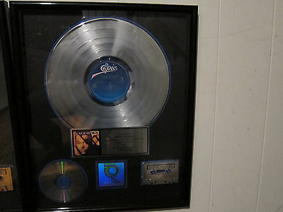 RIAA Luther Vandross Power of LOVE award plaque