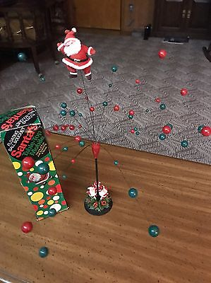 Vintage Santa's Floating Ball Bouquet Table-Top Mobile