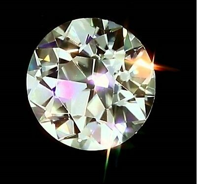 *New Laborite *1.01ct ct 6.5mm Round Synthetic stone! Best Diamond substitute!