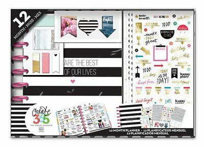 Create 365 The Happy Planner 12-Month Box Kit - BEST DAYS