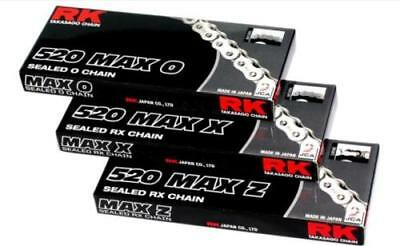RK Chain 520 Max O-Ring Sealed Motorcycle Chain 114 Links 520MAXO-114