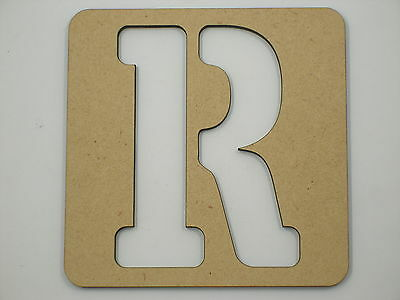15cm Large Wooden Letter Words Stencil Letters Free Shipping Alphabet Name STE