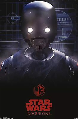 Star Wars Rogue One - K-2SO Droid Poster - 22x34