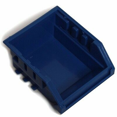 2x Handy Storage TOTE Wall Mountable, Stackable BLUE *Aust Brand - Size 10 Or 30
