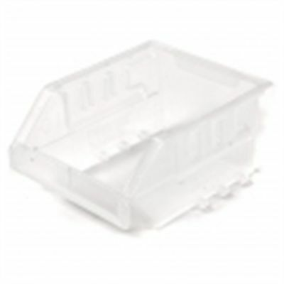 2x Handy Storage TOTE Wall Mountable, Stackable CLEAR *Aust Brand- Size 10 Or 20