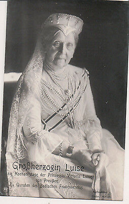 Vintage Postcard Princess Louise of Prussia Grand Duchess of Baden