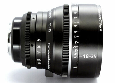 Customized cine sigma18-35mm f1.8 Canon EF FOR RED RAVEN BMCC BMPCC SONY 5D C300