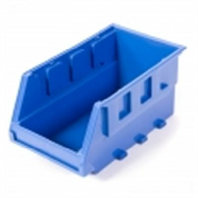 2x Handy Storage TOTE Size 30, Wall Mountable, Stackable BLUE *Australian Brand
