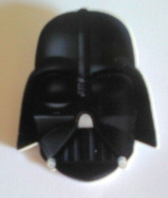 DARTH VADER HEAD brooch STAR WARS badge retro brooch DARTH VADER COSTUME