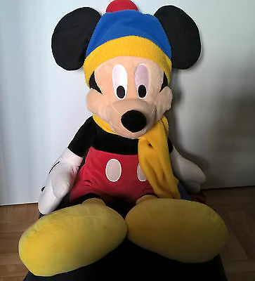 MICKEY - DISNEY - Peluche velours - OCCASION -