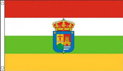 5' x 3' La Rioja Flag Spain Spanish Regional Region Flags Banner